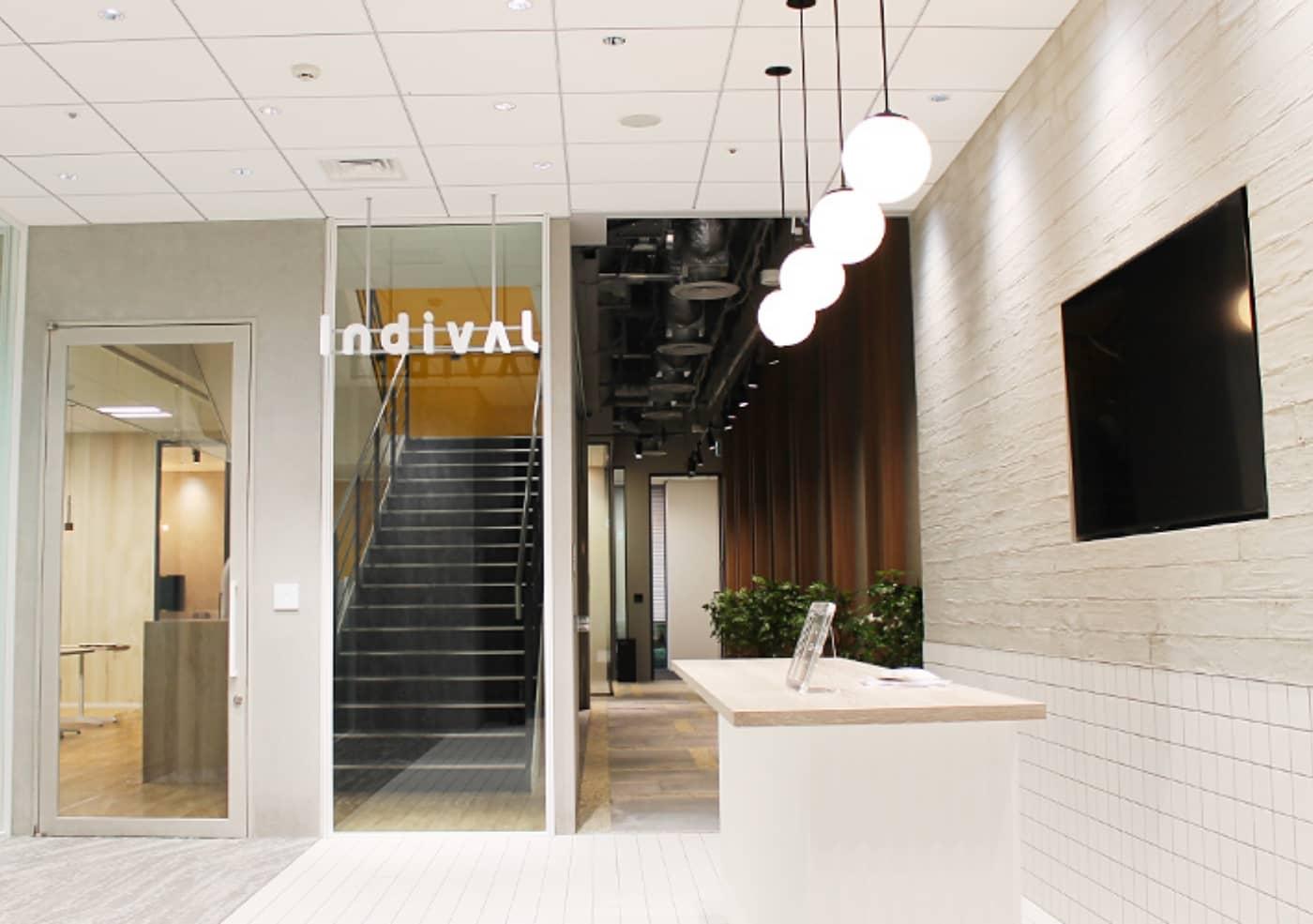 株式会社インディバル〜生産性の高いオフィス環境へ