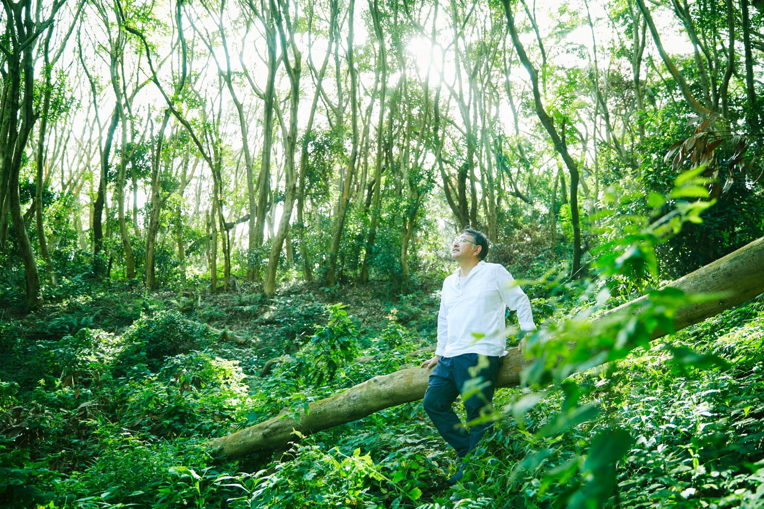 R-LIVE代表 上田と森林