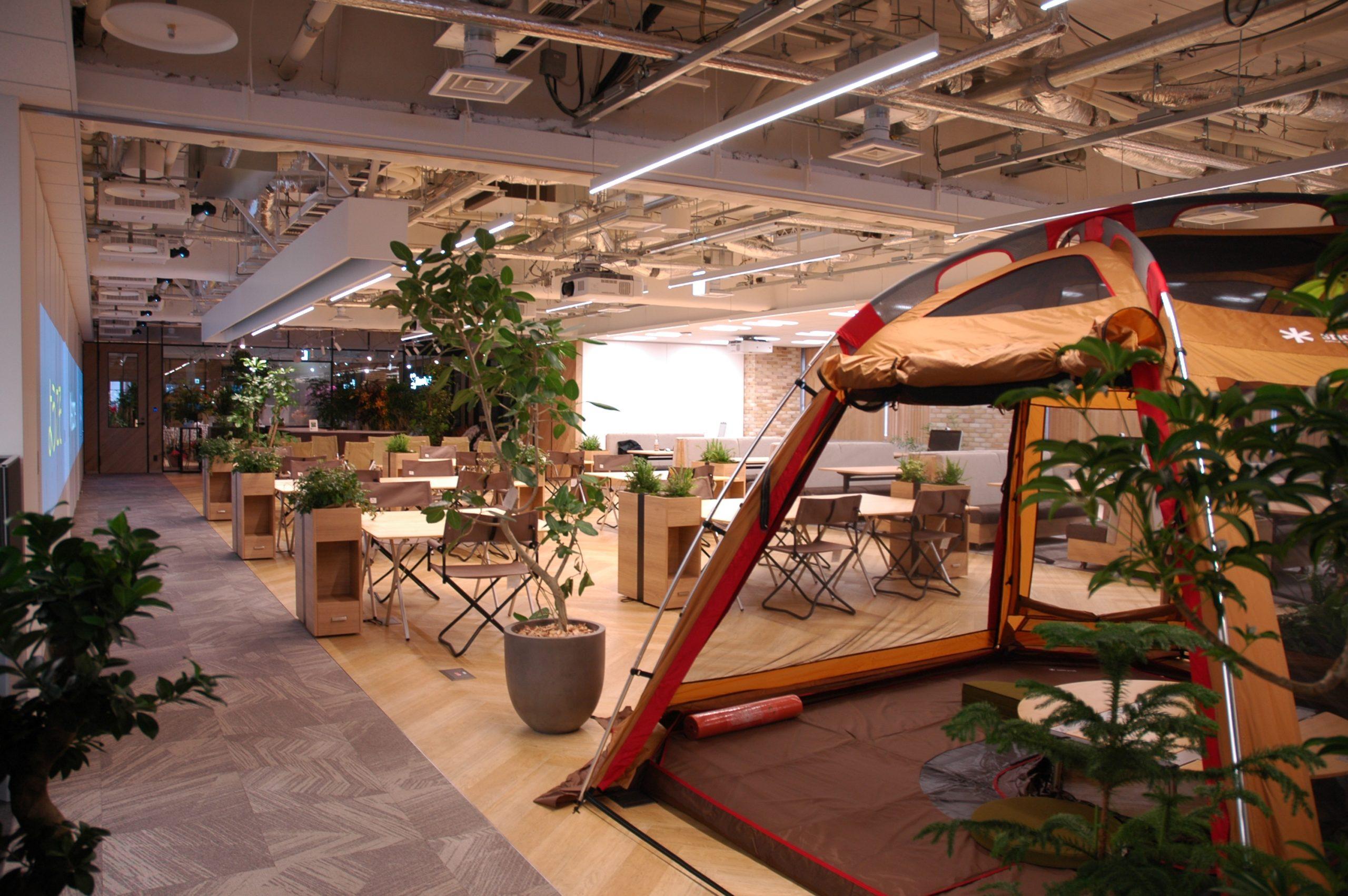 """社員の意識や行動に変化をもたらす """"オフィス空間づくり""""が組織成果の大きな要に。"""